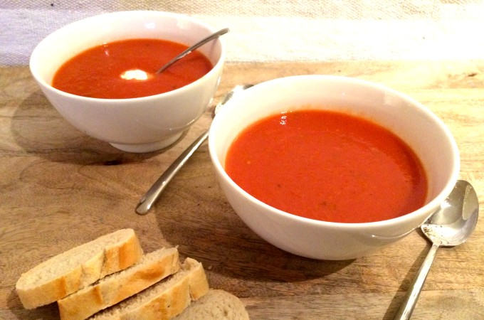 Pomodorisoep tomatensoep