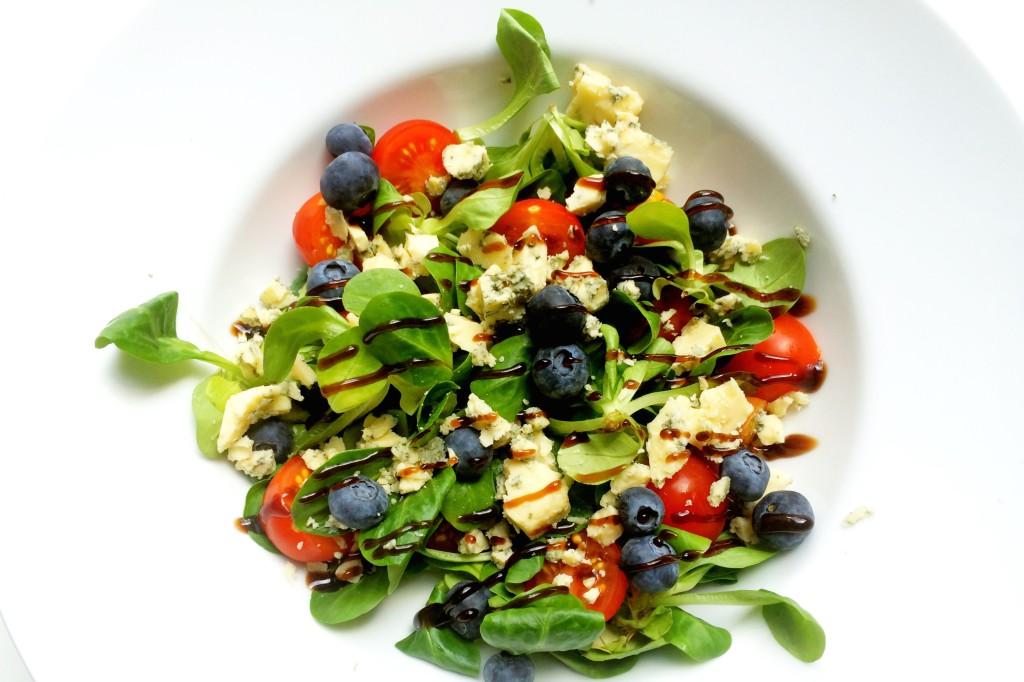recept Simpele 5 ingredienten lunchsalade