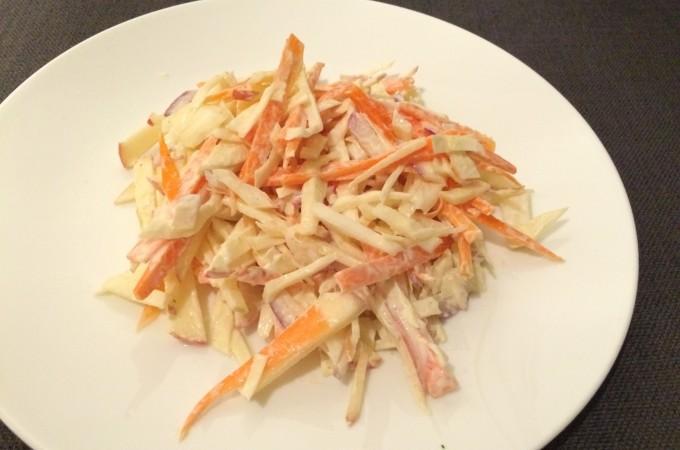 recept coleslaw