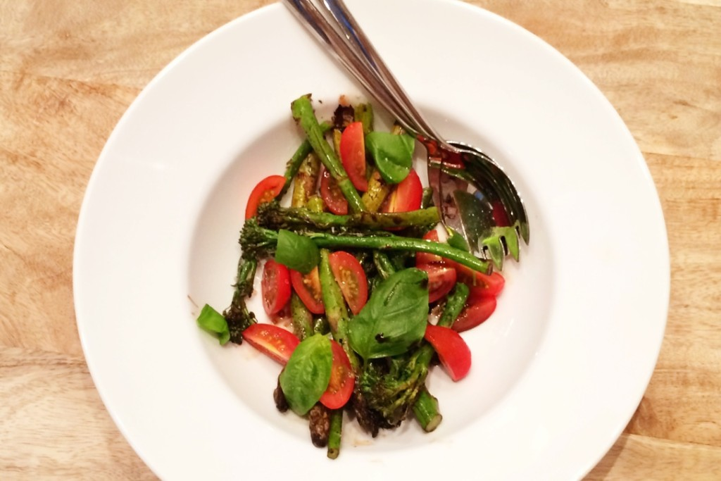 recept gegrilde groenten met balsamico