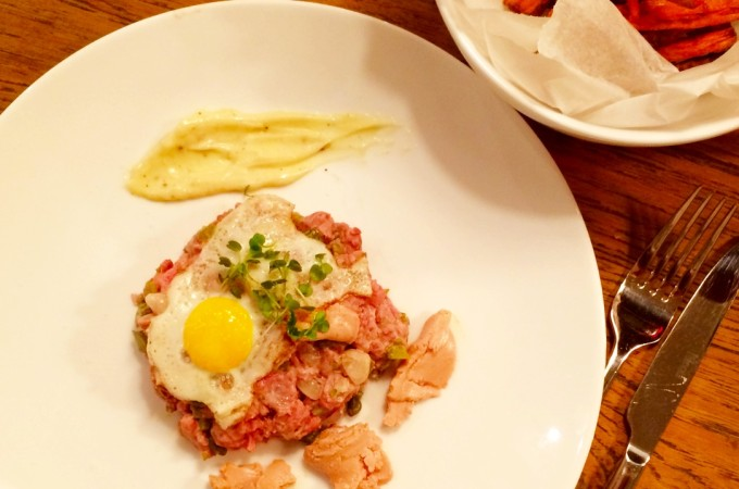 recept Steak Tartare Deluxe