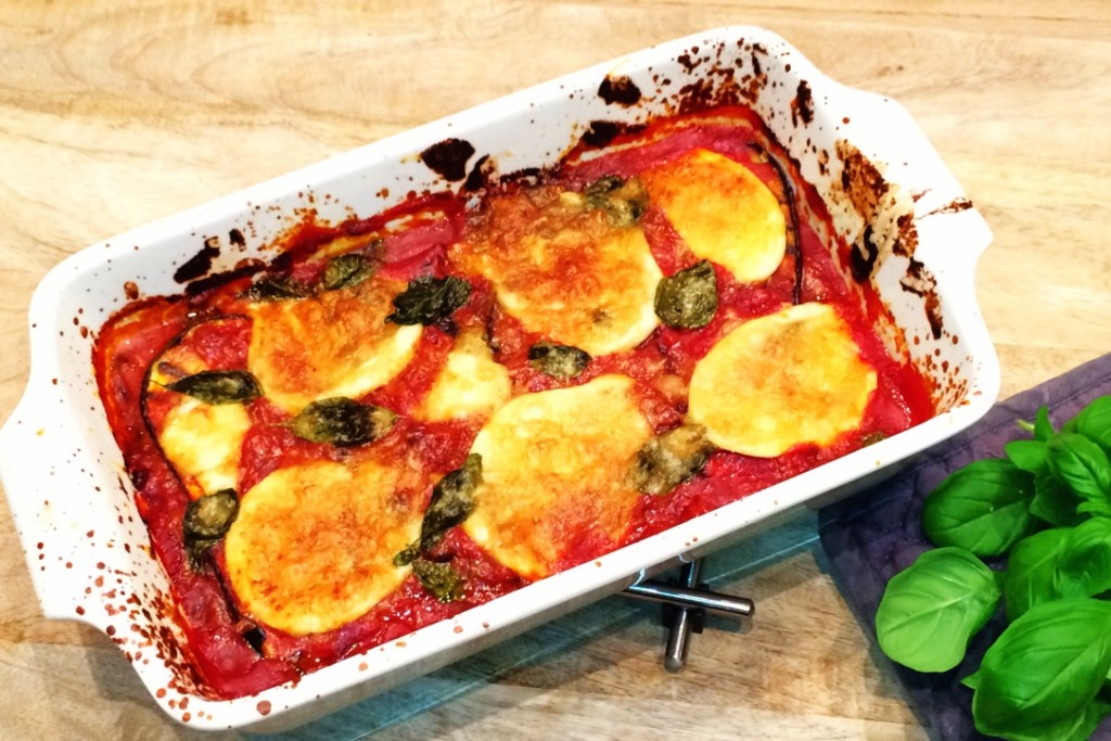 recept Melanzane alla parmigiana