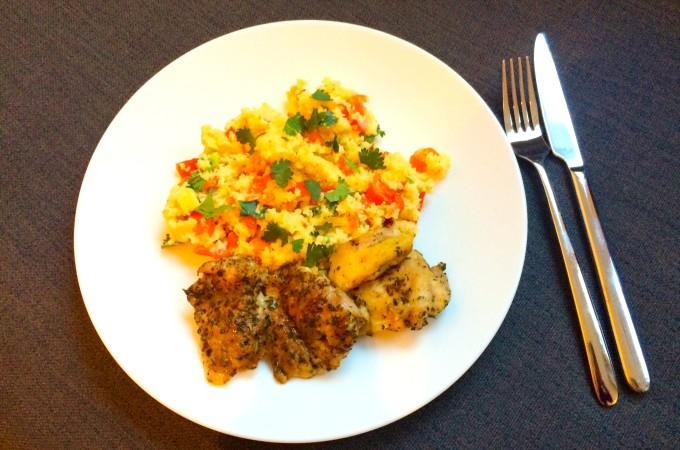 recept Mediterrane kip met groenten couscous
