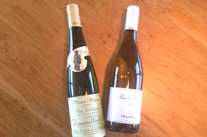 asperges en wijn pinot blanc