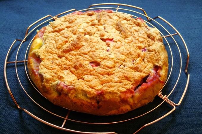 recept aardbeien taart met amandelen
