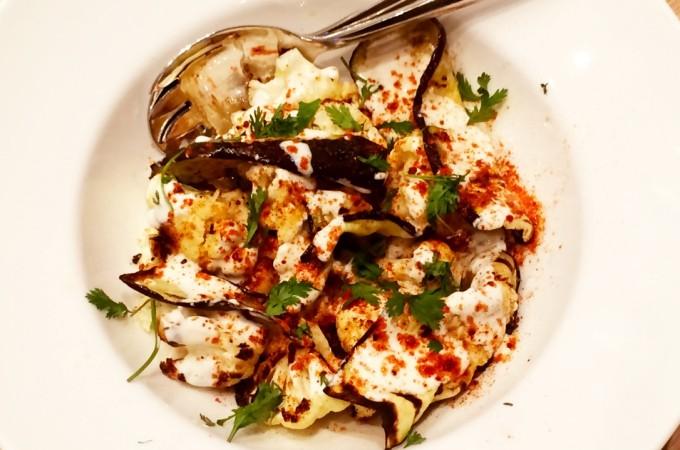 recept Libanese aubergine en bloemkool